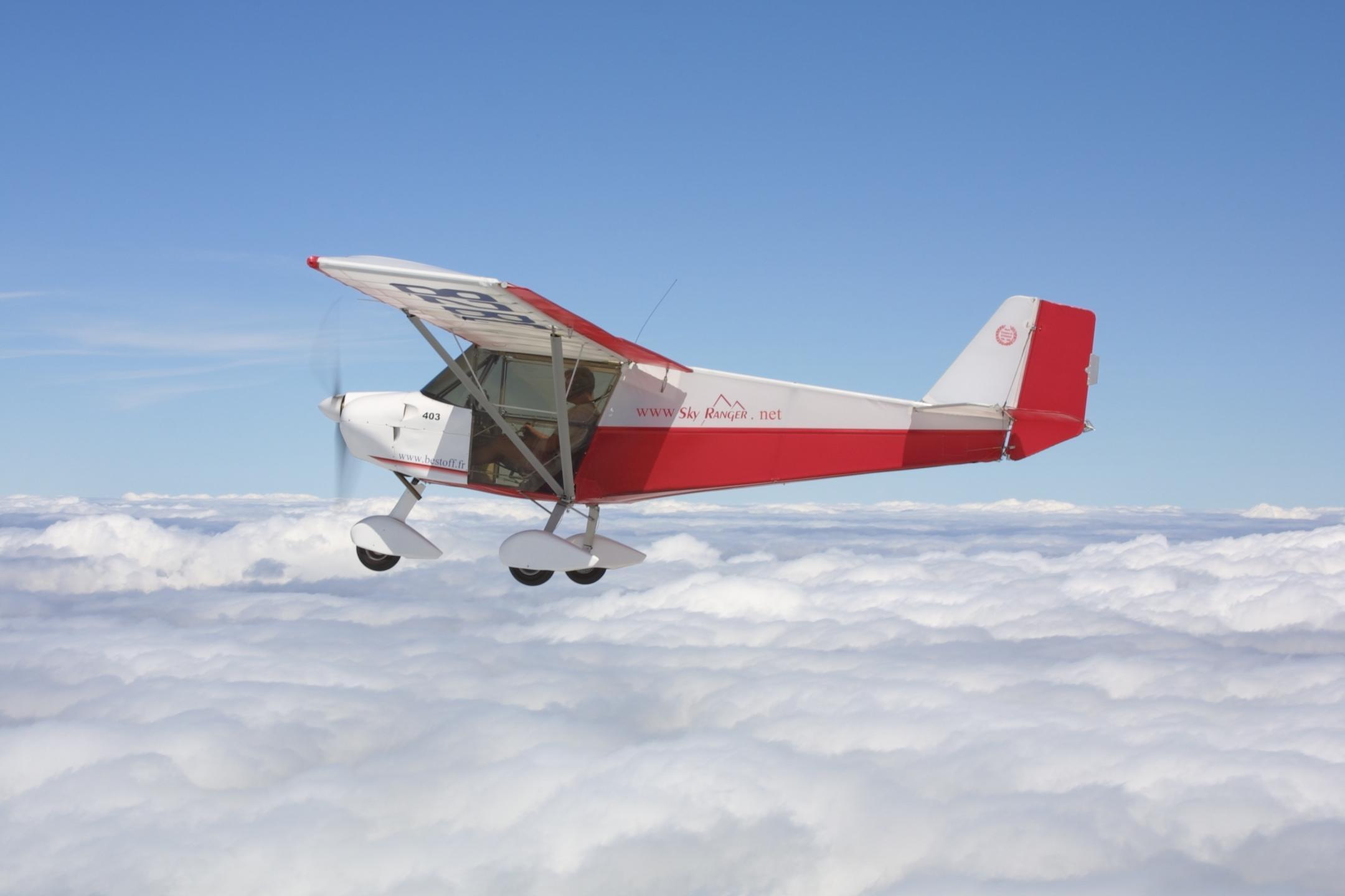 microlight airsports flight training